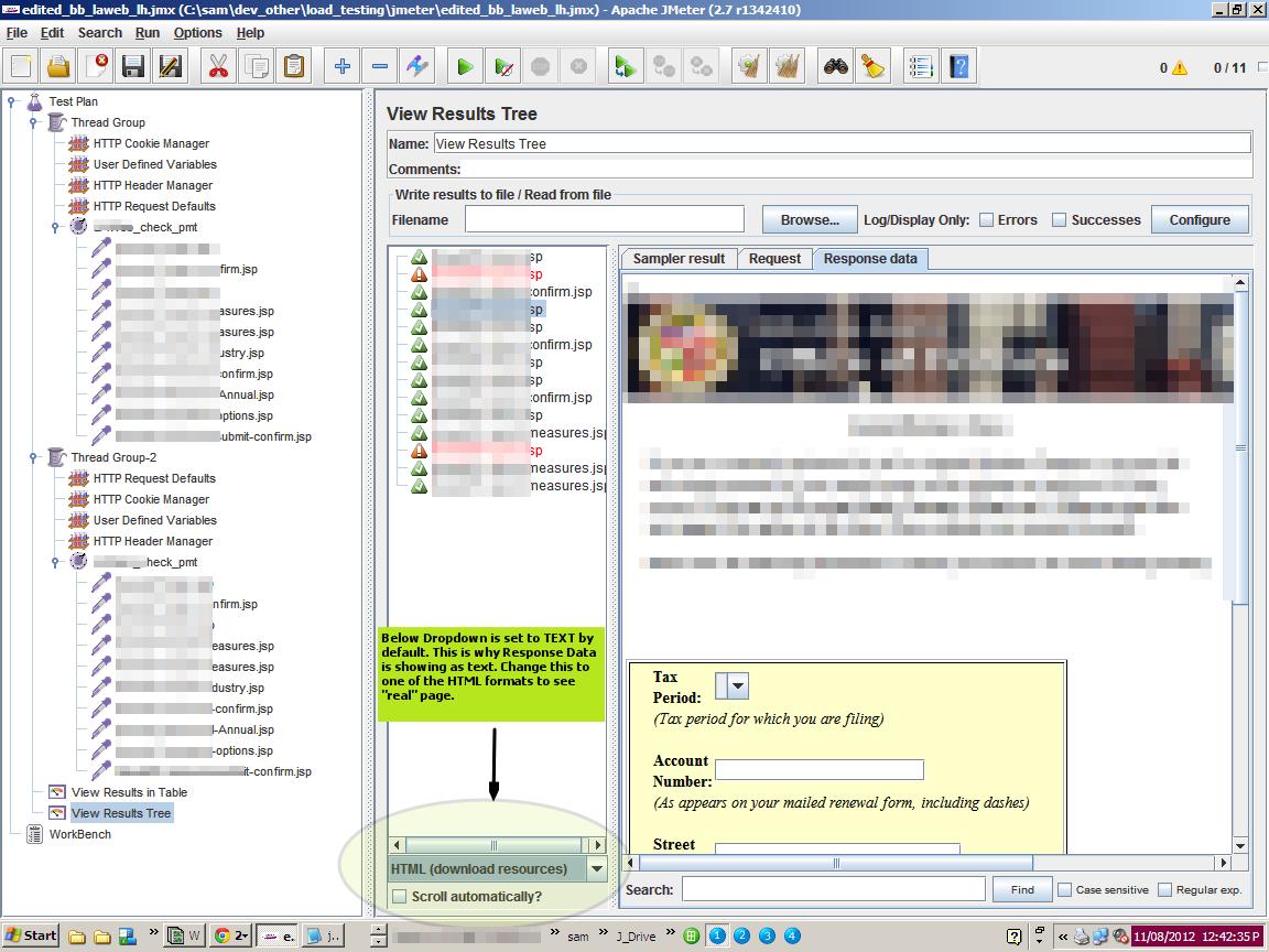 Gotcha – JMeter: Response Data Display - CodeProject