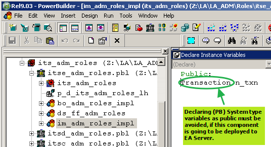 1. CORBA IDL Error on PB System objects