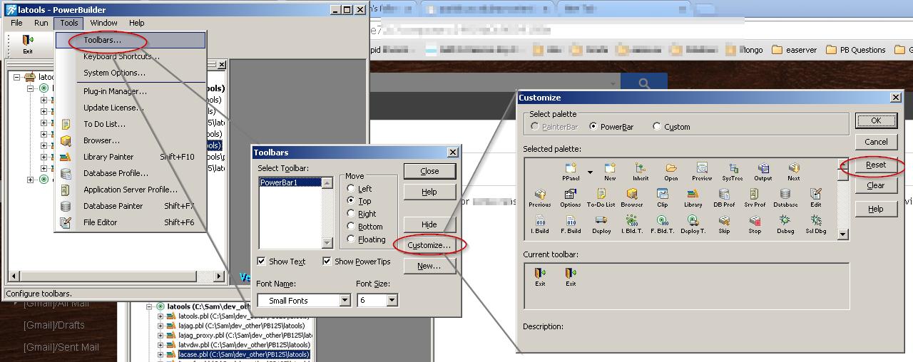 PowerBuilder Disappearing PowerBar Icons Power to Build – Powerbuilder Programmer